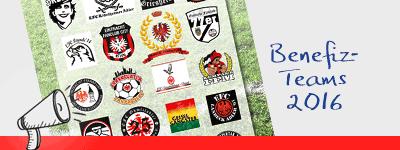 Benefiz-Teams 2016