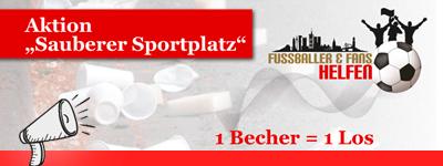 """Aktion """"Sauberer Sportplatz"""""""