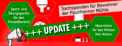 UPDATE: Sachspenden für Bewohner Praunheimer Mühle